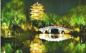 """""""一湖一环""""璀璨夜景丰富了泉城的夜生活柳州"""